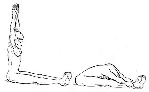 Makko ho vežbe istezanja, meridijan bubrega i mokraćne bešike