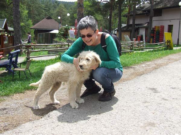 Snežana Jovanović Karan i pas