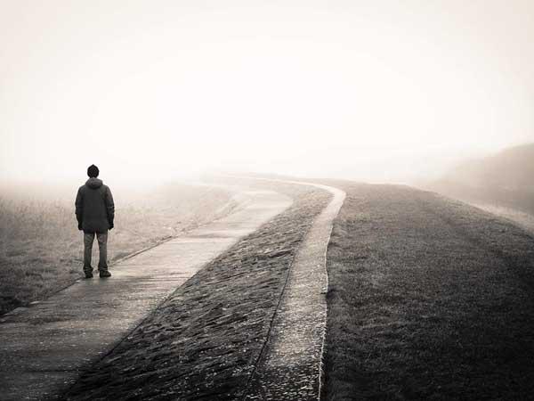 Samoća,šetnja