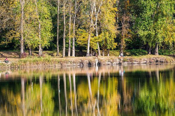 Odmor, jezero Provala