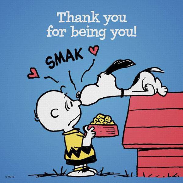 Zahvalnost, hvala...
