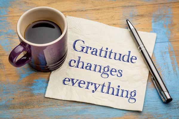 Zahvalnost, promena