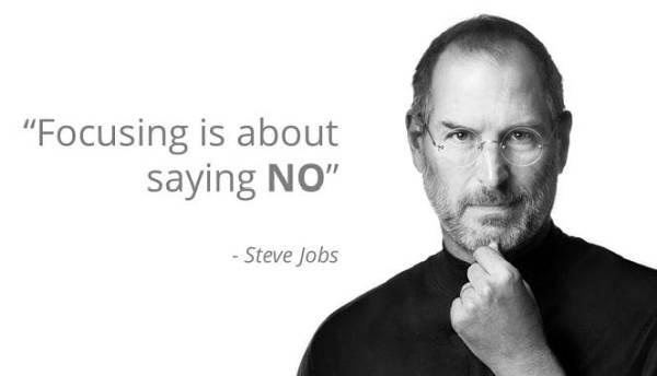 Reći ne Steve Jobs