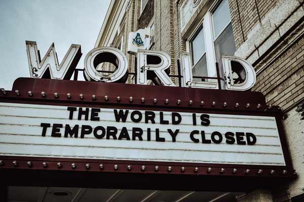 Bolest može zaustaviti svet