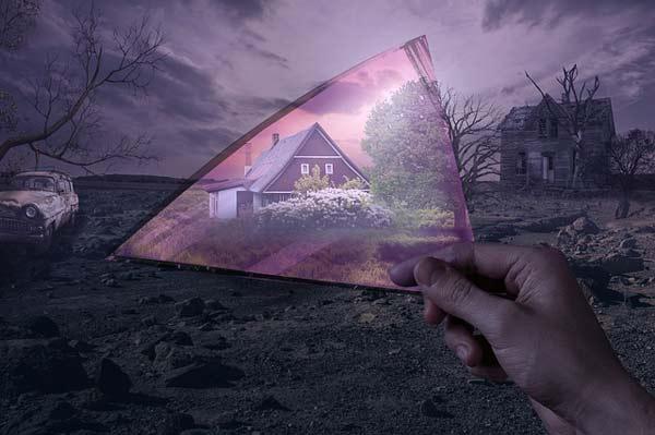 Mračna noć duše, pogled kroz ružičaste naočare